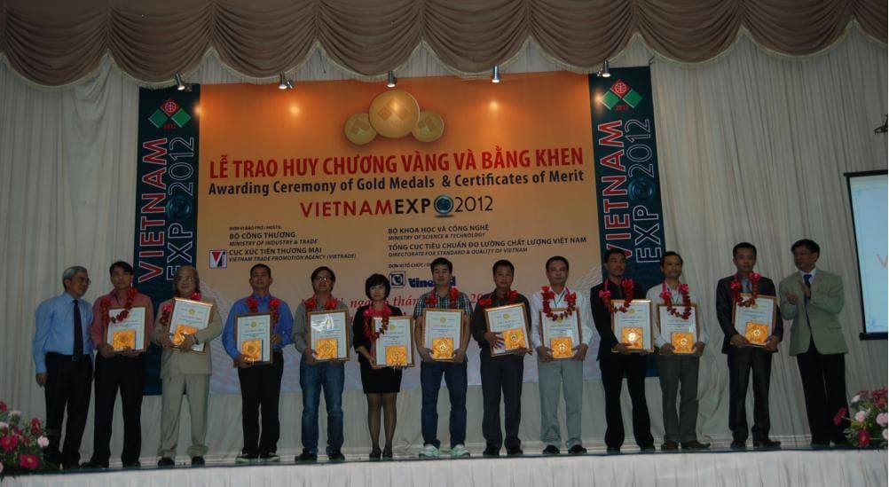 ECAPRO đạt Huy chương Vàng Vietnam Expo 2012