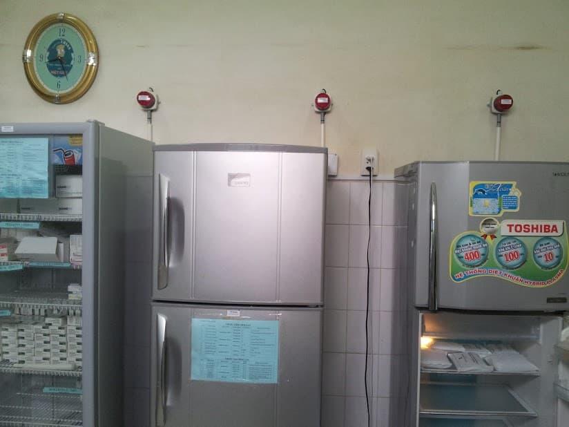 ECAPRO triển khai thành công Hệ thống giám sát cảnh báo nhiệt độ cho các tủ lạnh chứa thuốc của Bênh Viện Nhiệt Đới TPHCM
