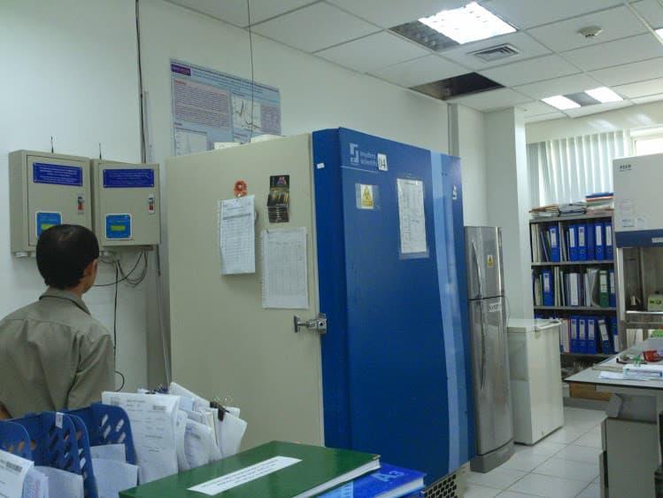 Giám sát nhiệt độ trong sản xuất và lưu kho dược phẩm, vắc xin