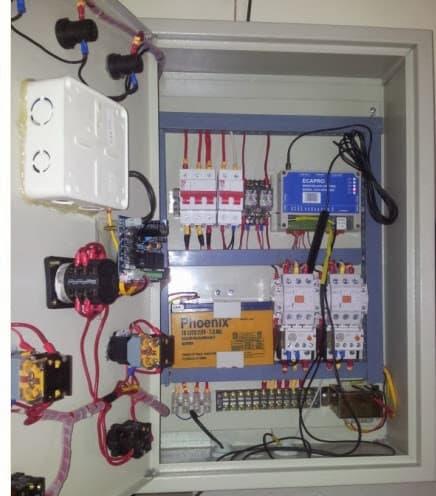 Thiết bị điều khiển nhiệt độ kho lạnh, ECA-GPIs4.4EZ