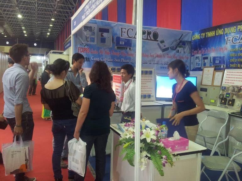 Thư mời thăm quan gian hàng ECAPRO tại hội chợ VIETNAM EXPO 2015