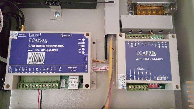 Truyền dẫn và thu thập dữ liệu qua GPRS, ECA-GPIs4.4EGPRS